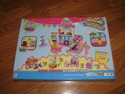 NIP Shopkins Kinstructions Deluxe Shopville Mall - Exclusive