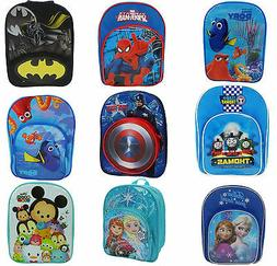 Official Disney & Kids TV Movie Character School Bag Backpac
