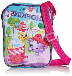Shopkins Girls Pa Crossbody, Blue