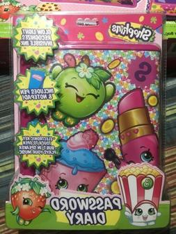 SHOPKINS Password Diary for Girls 💜💜. Brand New Sealed