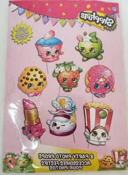 Shopkins Photo Props Birthday Party Supplies Decoration