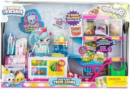 Shopkins Pick N' Pack Small Mart Playset Season 10 W/ 2 Excl
