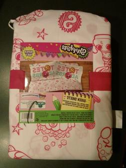 New Shopkins 4 pc Queen Sheets Set 100% Polyester Super Soft