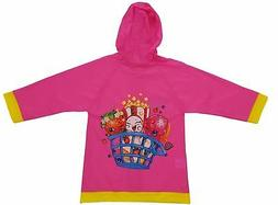 Rain Slicker Raincoat Toddler Shopkins Little Girls  Small 2