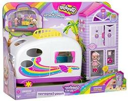 Shopkins Rainbow Camper Van Play Set Toy Kids Toddler Girl G