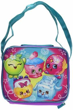Shopkins Rainbow Rectangle Insulated Lunch Bag with Straps