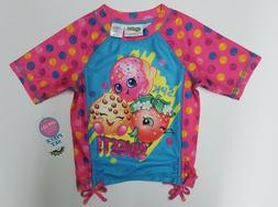 Shopkins Rash Guard Shirt 4T NEW