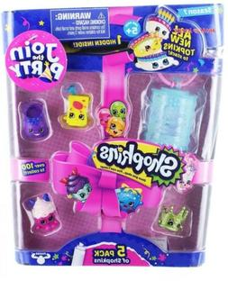Shopkins S7 5Pk Toy. Join The Party! Exactly As Pictured. Fr