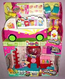 Shopkins SCOOPS ICE CREAM TRUCK & SWEET SPOT FOOD FAIR PLAYS