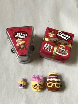 Shopkins Season 11 Family Surprise Mini Packs~ Sweet Cakes 5