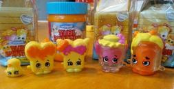 SHOPKINS SEASON 11 JELLY NUTSONS FAMILY 5 pcs CONTAINERS PEE