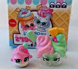 SHOPKINS SEASON 11 THE SCOOPERS SISTER SCOOPS & LIL SOFTIE +