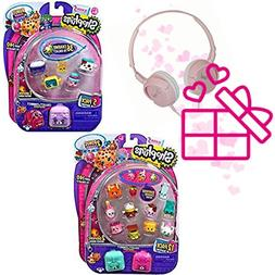 Shopkins Season 5  12 Pack and  5 Pack with Bracelet Charms