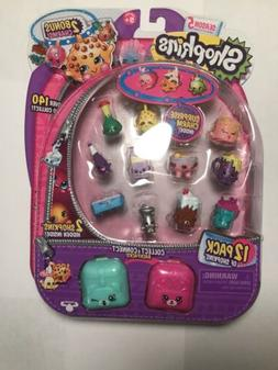 Shopkins Season 5 12 pack with 2 bonus charms!  New in packa