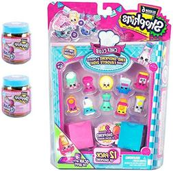 Shopkins Season 6 Chef's Club 12 Pack PLUS Two Mystery Jars