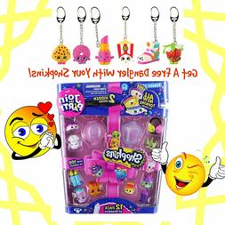 Shopkins Season 7 Join the Party 12 Pack & Shopkins Danglers