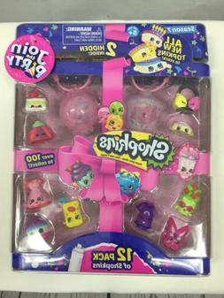 Shopkins Season 7 Set E 12 Pack of Animals & 2 Lanterns w/Co