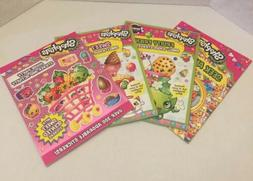 Set Of Shopkins Activty Books