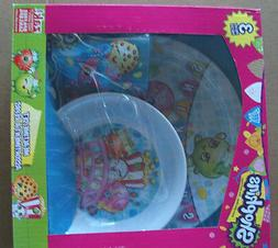 SHOPKINS 3 PCS DISH SET, BOWL & CUP - MEALTIME SET