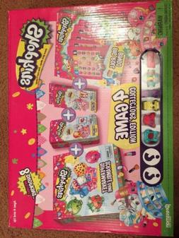 Shopkins 4 Game Value Pack Collectors Edition Board Game Toy