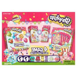 SHOPKINS 4 GAME VALUE PACK ~ INCLUDES 8 SHOPKINS! ~ AGES 4+