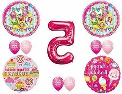 shopkins 5th birthday party balloons decorations supplies
