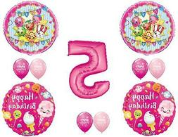 SHOPKINS 5TH SUGAR Filled Birthday Party Balloons Decoration