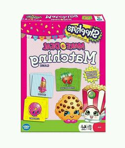 Shopkins Make-A-Deal Matching Board Game