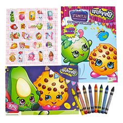 Shopkins Activity & Coloring Book, Stickers, Posters & Washa
