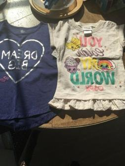 Shopkins And Old Navy Shirt Size 4 And 4T