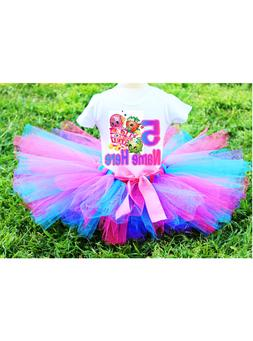 Shopkins Basket Birthday Tutu Set Outfit Your Child's Name a