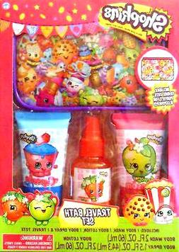 Shopkins Travel Bath Set Includes Travel Tote, Body Wash, Lo