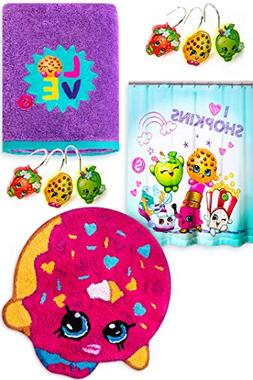 Jay Franco & Sons Shopkins Bathroom Accessory Set