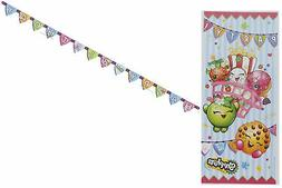 Shopkins Birthday Party Decorating Kit Tablecover Banner Pos