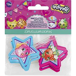 SHOPKINS Birthday Party Supplies Cupcake Toppers Fun Pix 24c