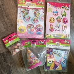 Shopkins Birthday Party Supplies Decorations Banner Hats Pho