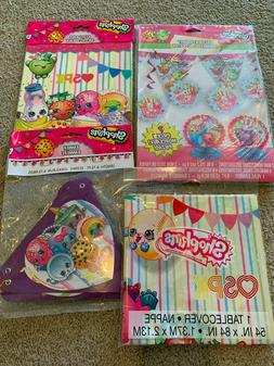 SHOPKINS Birthday Party Supplies LOT Decorations Loot Bags B
