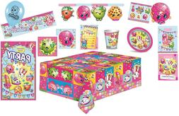 SHOPKINS BIRTHDAY PARTY  SUPPLIES Napkins Plates Cups Tablec
