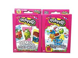 Hasbro Shopkins Card Games Bundle With 1 Top Trumps Who's th