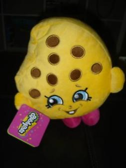 "Shopkins Chocolate Chip Kooky Cookie Plush 8"" Pillow and Thr"