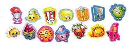 Shopkins Collectable Mini Erasers 14 different