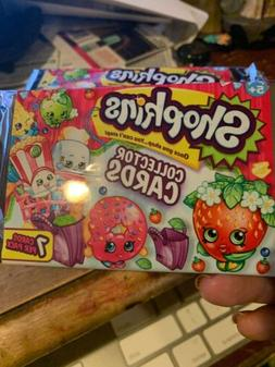 Shopkins Collector Card Packs LOT OF 3 Trading Cards NEW Sea