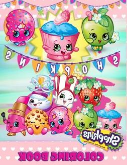 shopkins coloring book kids