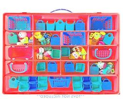 Life Made Better Storage Box for Shopkins Toys, Compatible C