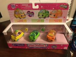 Shopkins Cutie Cars 3 Pack FAST N FRUITY Collection 22 23 &