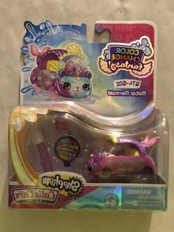 Shopkins Cutie Cars Color Change Fantasy ~ QT4-C02 Motor Mer