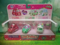 Shopkins Cutie Cars Series 1 Candy Combo Collection 3 Pack V