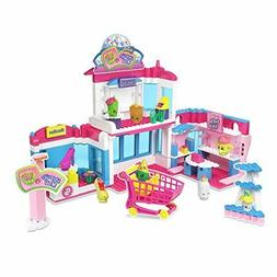 Shopkins Kinstructions Deluxe Shopville Mall - Exclusive Sho