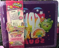 Shopkins Deluxe Stationary Set with Tin Carrying Case for st