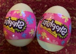 Shopkins Easter New 2 Eggs Yellow  Unopened